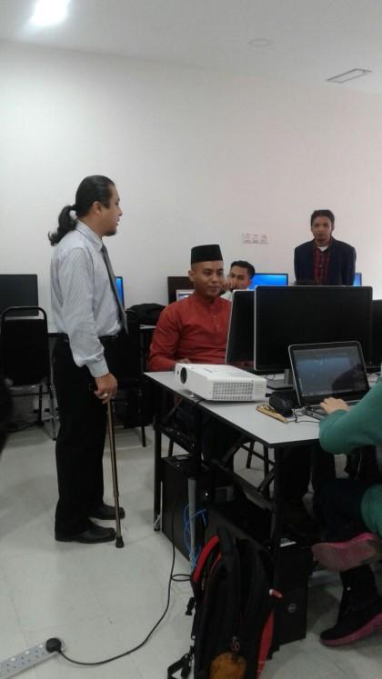 4. temuramah dengan pelajar2 3D