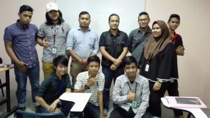 6 Bersama team Diploma Kemahiran Mara Level 2