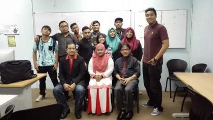 6 Bersama team Diploma Kemahiran Mara Level 3